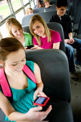 Gruppresa med buss